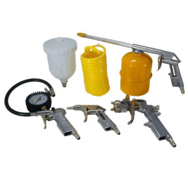 Kit de Acessórios para Compressor de Ar com 5 Peças - Tekna