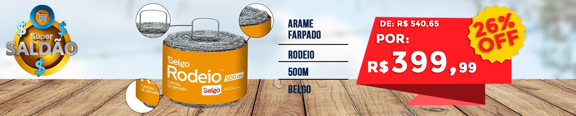 Arame Farpado Belgo